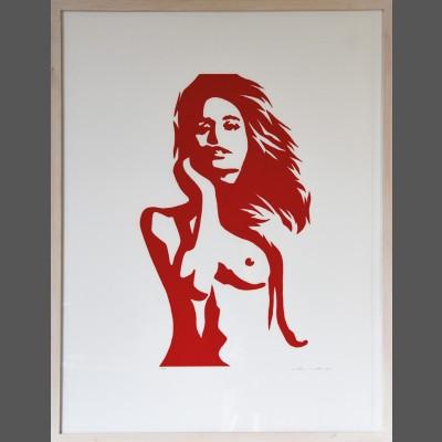 Werner Berges: Die Farben der Frauen - La Roja