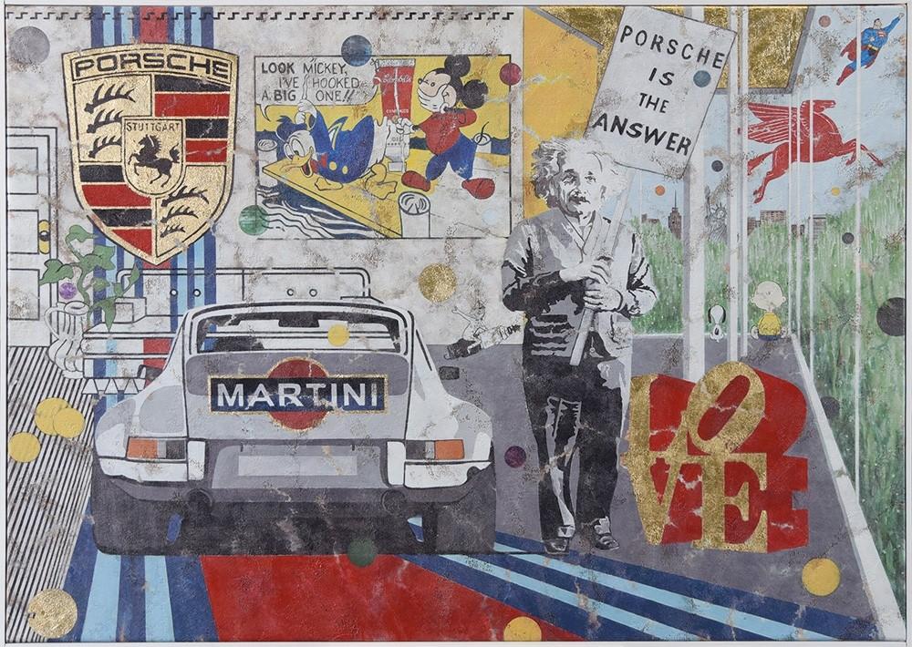 Ferencz Olivier: Porsche Martini II