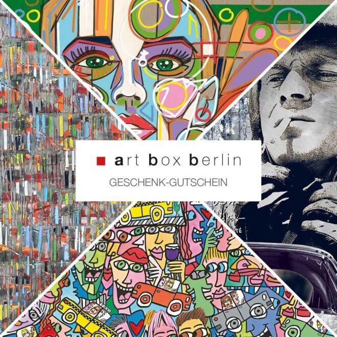 art box berlin: Geschenk-Gutschein-100 €