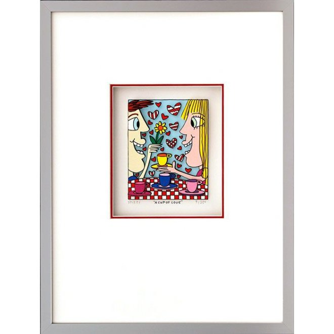 James Rizzi: A Cup Of Love