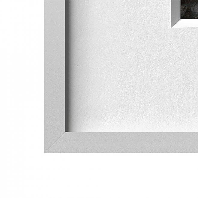 Alurahmen silbermatt | 40 x 50 cm