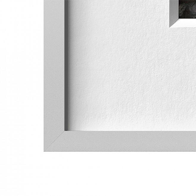 Alurahmen silbermatt | 60 x 70 cm
