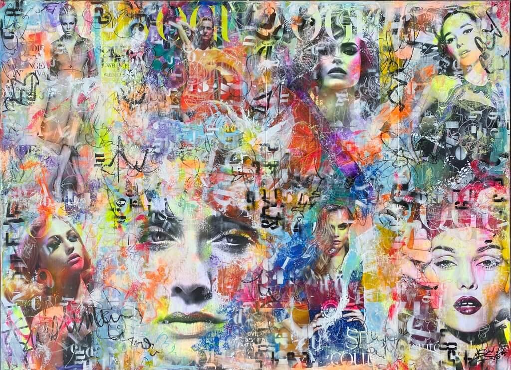 Astrid Stöfhas: Vogue Rainbow