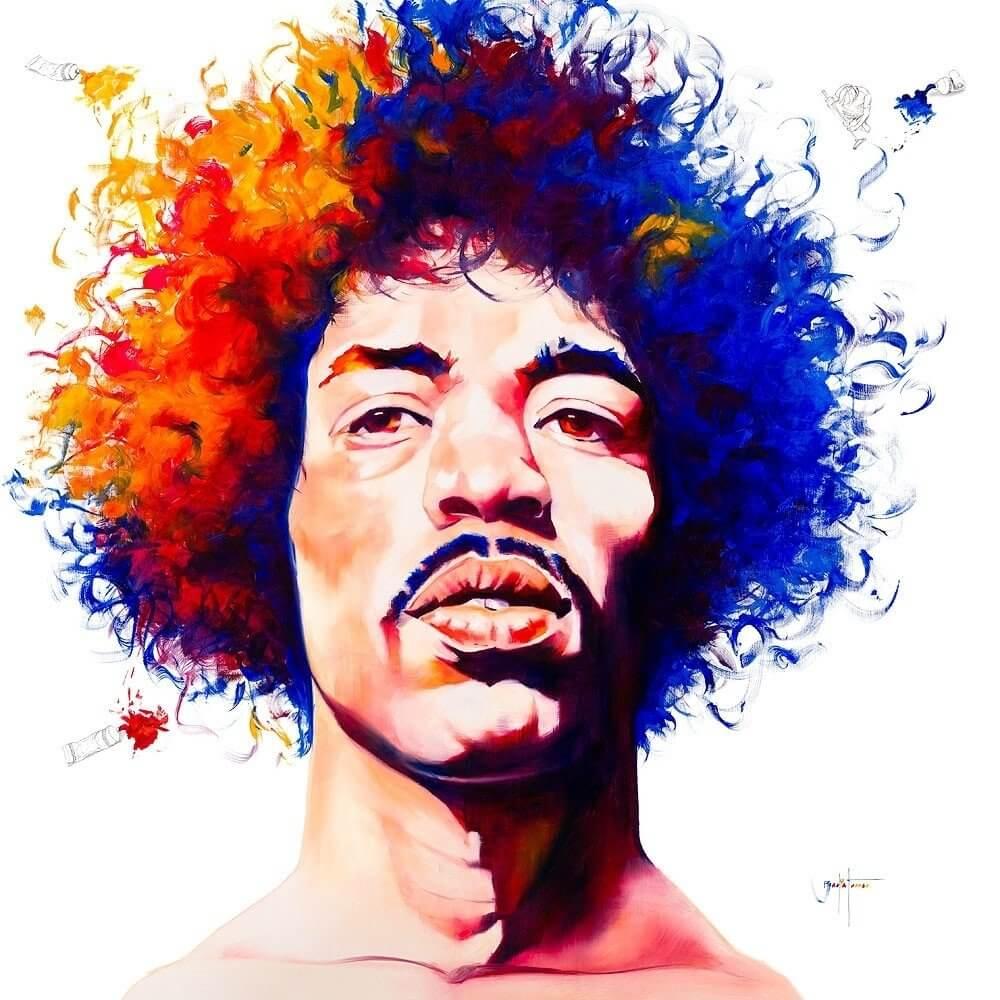 David Badia Ferrer: Jimi Hendrix - Edition