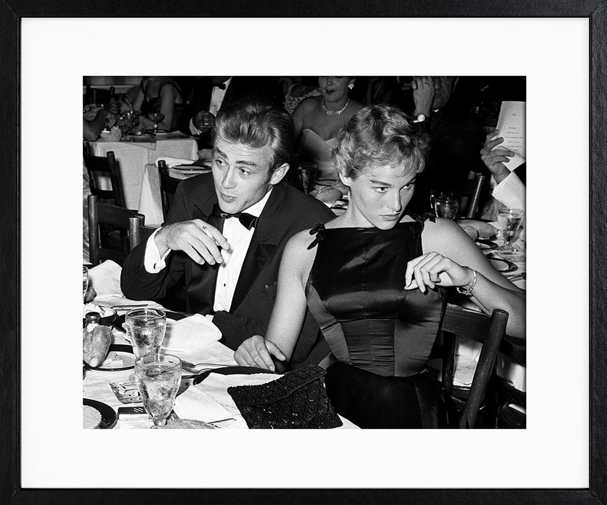 8f8a2b3a1206 Frank Worth  James Dean Ursula Andress at Oscar Dinner 1955