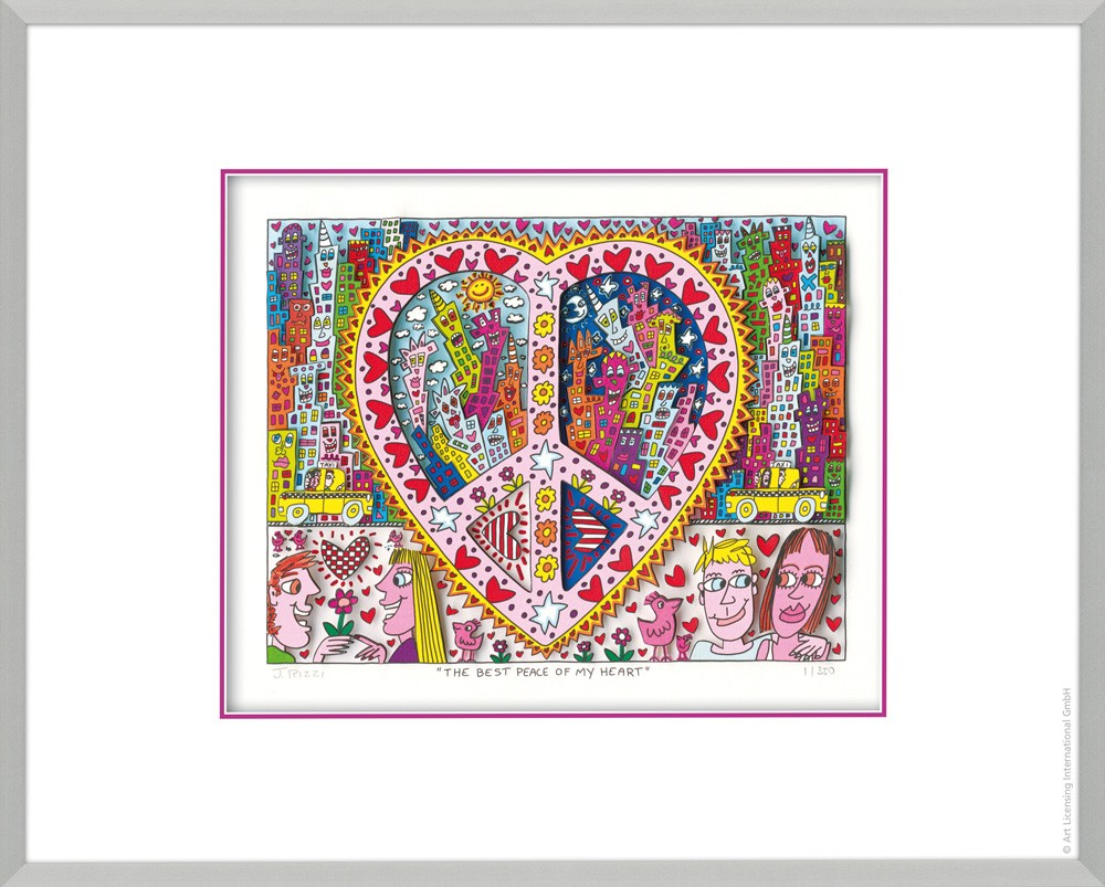 James Rizzi The Best Peace Of My Heart