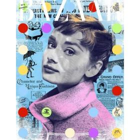 Devin Miles: Bazaar – Audrey Hepburn