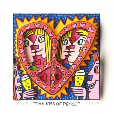 James Rizzi: A Kiss Of Peace