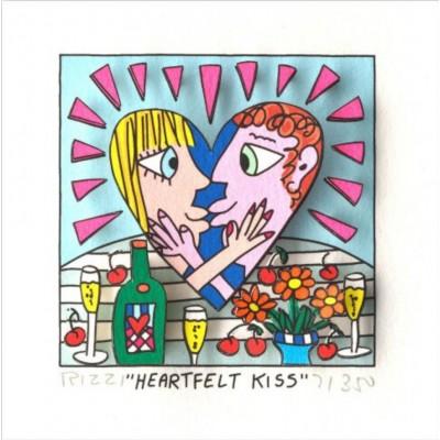 James Rizzi: Heartfelt Kiss