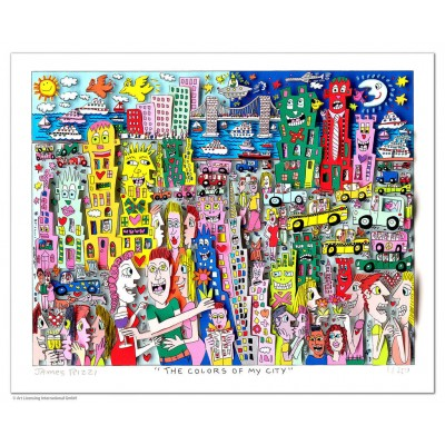 James Rizzi: The Colors Of My City