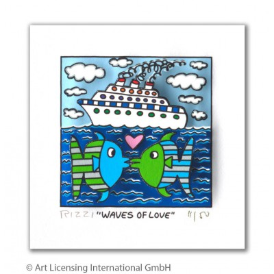 James Rizzi: Waves Of Love
