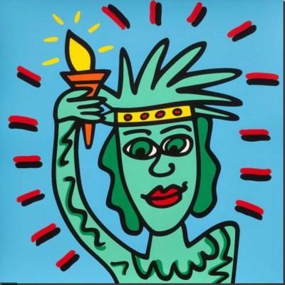 James Rizzi: Icon Liberty