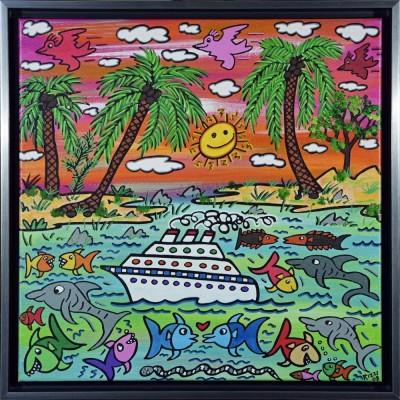 James Rizzi: A Sunset Cruise