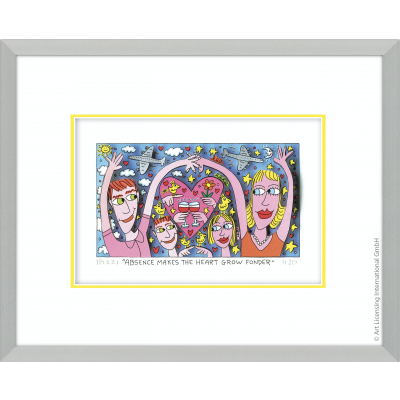 James Rizzi: Absence Makes The Heart Grow Fonder