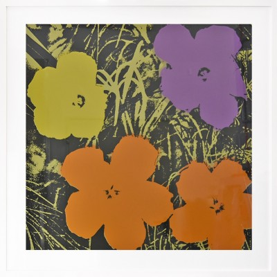 Andy Warhol: Flowers 67