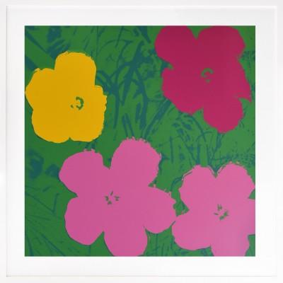 Andy Warhol: Flowers 68