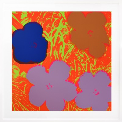 Andy Warhol: Flowers 69
