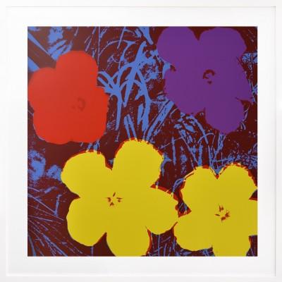 Andy Warhol: Flowers 71