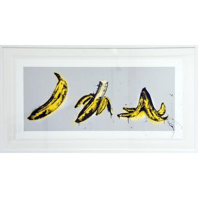 Mr. Brainwash: Banana Split (grau)