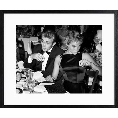 Frank Worth: James Dean Ursula Andress at Oscar Dinner 1955