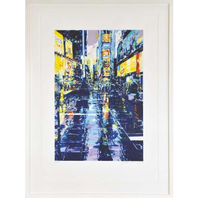 Jürgen Schmiedekampf: Time Square Colors