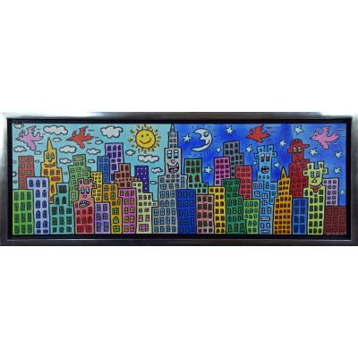 James Rizzi: My Candy-Colored City Of Love