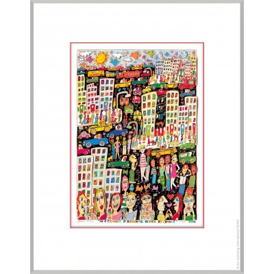 James Rizzi: In A Trance Of A Colourful Glance By Chance