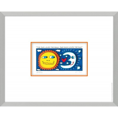 James Rizzi: The Sun Loves The Moon, The Moon Loves The Sun