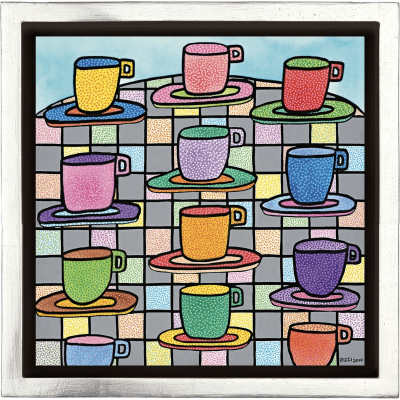 James Rizzi: The Most Colorful Cups Of Coffee