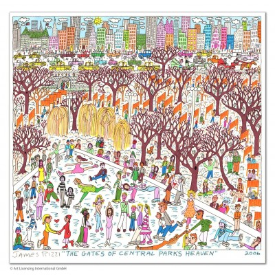 James Rizzi: The Gates Of Central Parks Heaven
