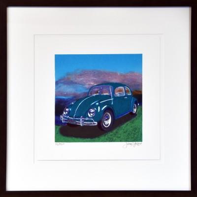 James Francis Gill: Mini Bug Turquoise