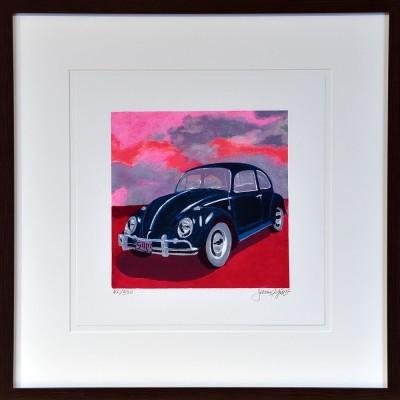 James Francis Gill: Mini Bug-Pink Sky
