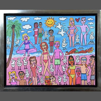 James Rizzi: Being On The Beach