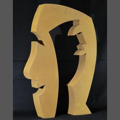 Guido Häfner: Archetypischer Kopf (Unikat)