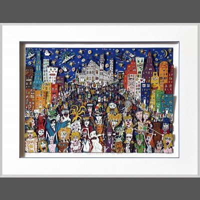 James Rizzi: Halloween In The USA