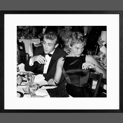 Frank Worth: James Dean Ursula Andress at Oscar Dinner