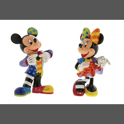 Romero Britto: Mickey + Minnie Bling