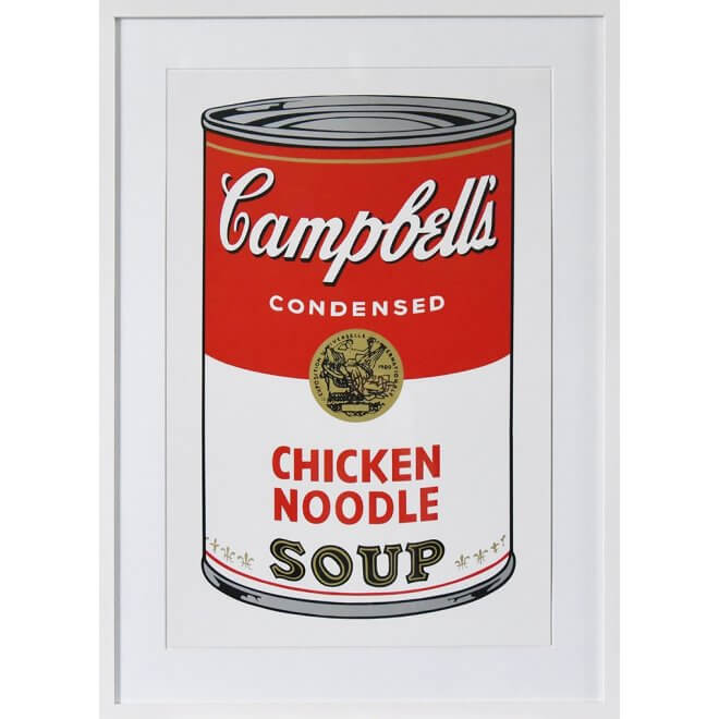 Andy Warhol: Campbells Chicken Soup