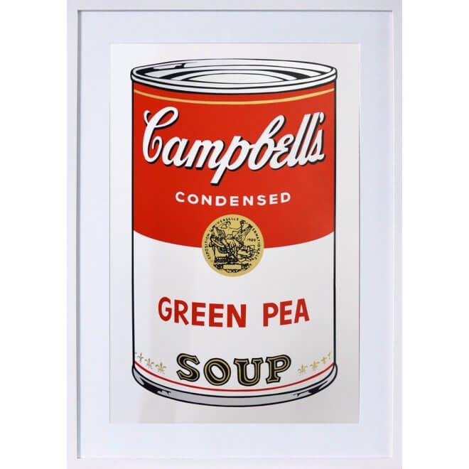 Andy Warhol: Campbells Green Pea Soup