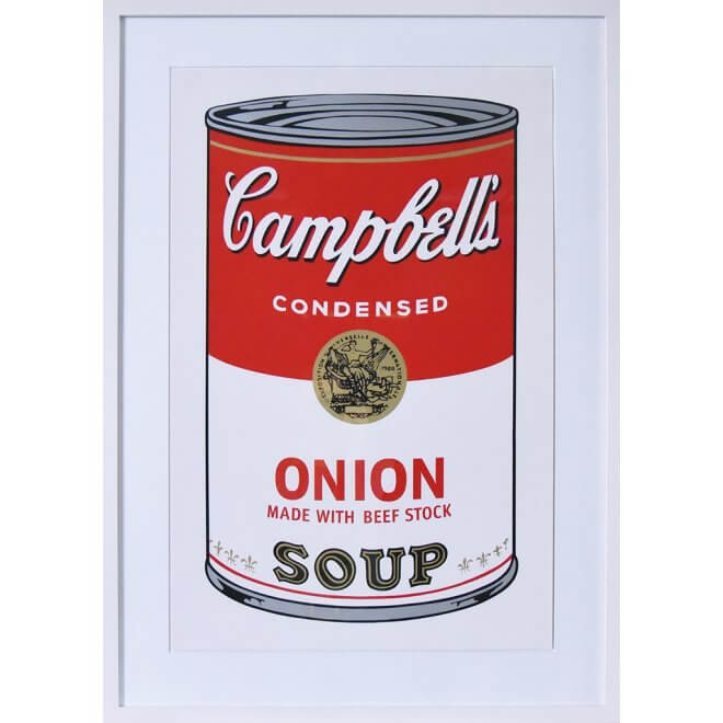 Andy Warhol: Campbells Onion Soup