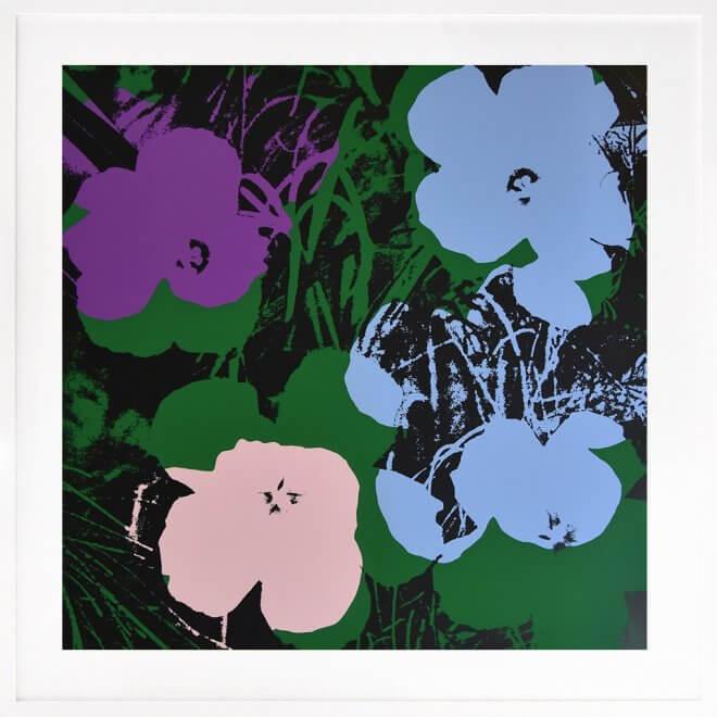 Andy Warhol: Flowers 64