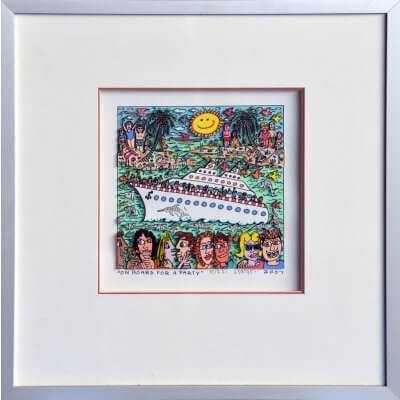 James Rizzi: On Board For A Party