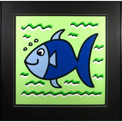 James Rizzi: Icon Fish