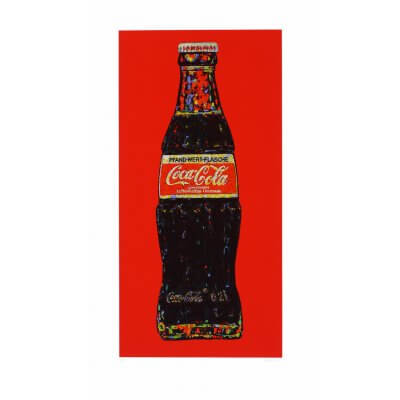 Andrei Krioukov: Cola-Flasche (rot)