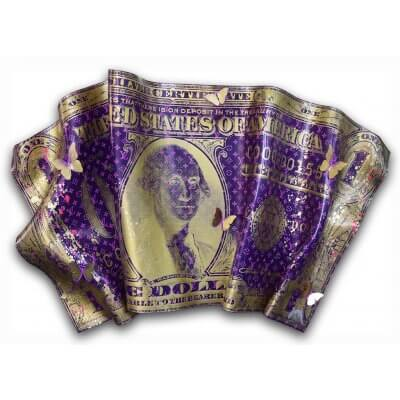 Devin Miles: One Dollar Louis Vuitton purple