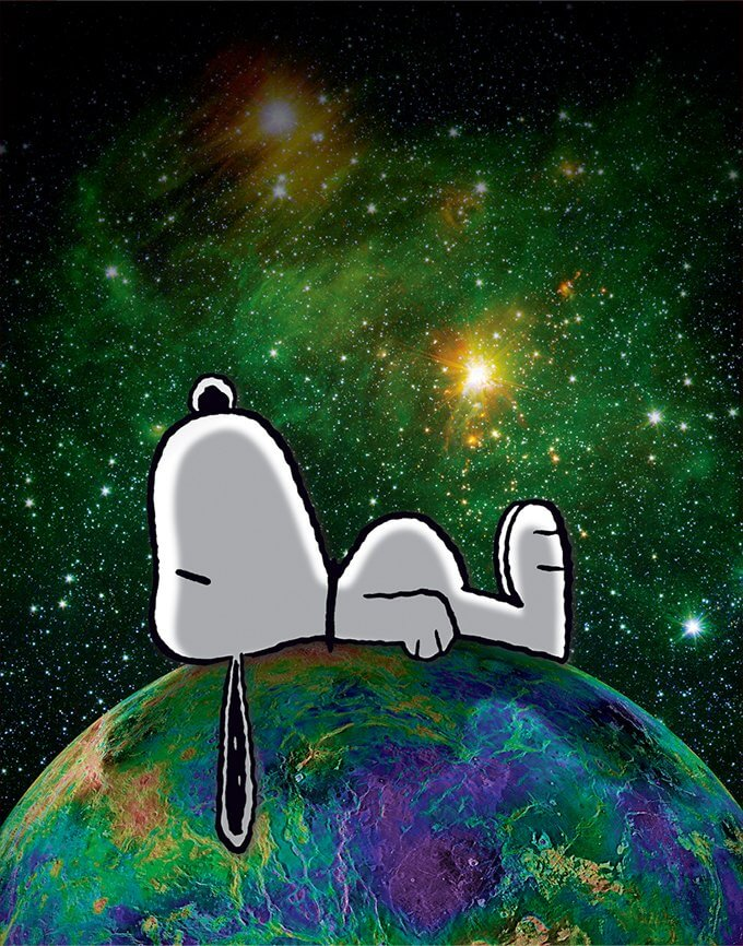 Charles M. Schulz: Peanuts, On Top of the world