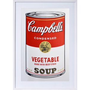 Andy Warhol: Campbells Vegetable Soup