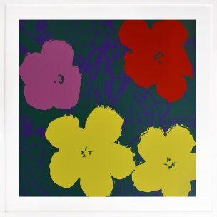 Andy Warhol: Flowers 65