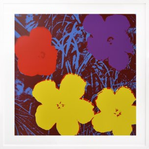 Andy Warhol: Flowers 71