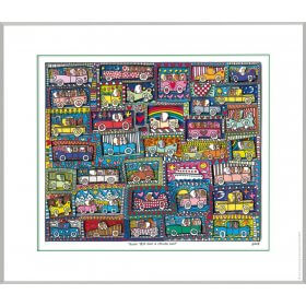 James Rizzi: Road Trip And A Cruise Ship